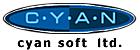 Logotipo de Cyan Soft