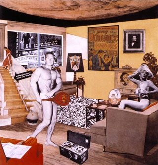 Un famoso collage de Richard Hamilton.